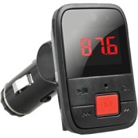 Bluetooth FM Transmitter With Large Red Display