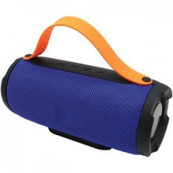 Bluetooth Portable Speaker With Built-in Strap Blue