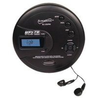 Personal MP3/CD Player With FM Radio