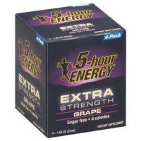 2oz. 5-Hour Extra Strength Energy Grape Flavor 4-Pack