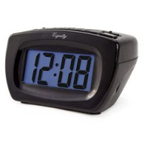 Digital Clock with LCD Blue Display and Super Loud Alarm