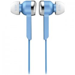 Iq-113 Digital Stereo Earphones Blue