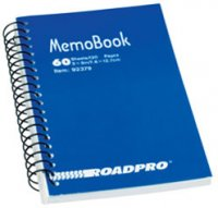 Side Spiral Memobook - 60 Pages