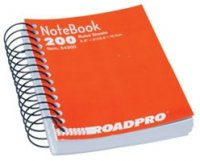 "5.5"" x 4"" Spiral Notebook - 200 Pages"