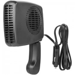 Compact 12 Volt Heater and Portable Hairdryer
