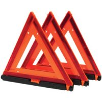 Emergency Warning Triangle 3-Pack