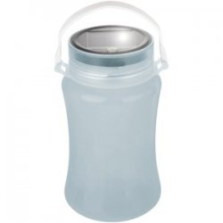 Solar Storage Bottle/lantern White