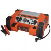 Professional Power Station with Jumpstart & Compressor