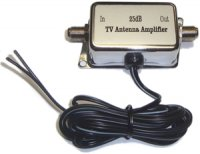 12Volt DC Digital In-Line TV Antenna Amplifier