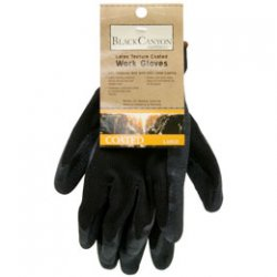 Latex Coated Work Gloves, Large