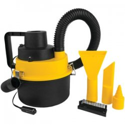 Ultra-Powerful 12-Volt Wet & Dry Canister Vacuum