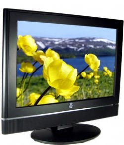"19"" Hi-Definition LCD Flat Panel 12-Volt TV w/ Built-In DVD Player Combo"