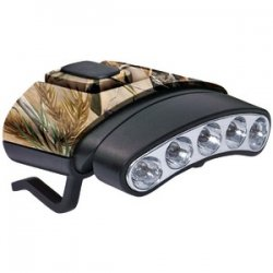 30-lumen Tilt 5-led Hat Clip Light Camo