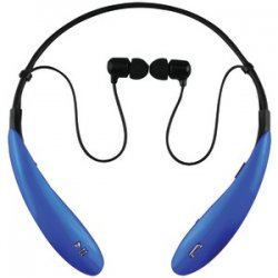 Iq-127 Bluetooth Headphones With Microphone Blue