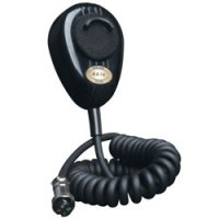Road King 4-Pin Dynamic Noise Canceling CB Microphone with Flex Cord