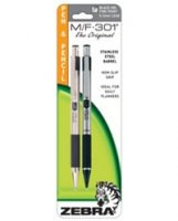 M/F-301 Mechanical Pencil and Fine Point Pen Set - Black Ink