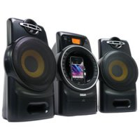 FM/CD Music System with iPhone/ iPod Dock