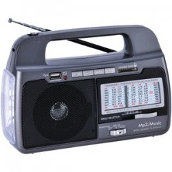 9-band Am/FM/SW 1-7 Portable Radio