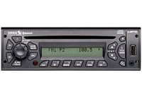 Semi-Truck CD/USB/MP3/Bluetooth w/Built-in Sirius Satellite Radio Receiver