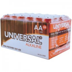 Alkaline Batteries AA 24 PK