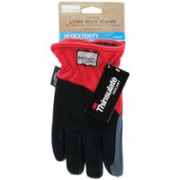 Flex Grip Lined Work Gloves, Large