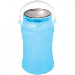 Solar Storage Bottle/lantern Blue