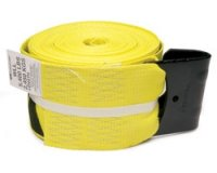 4 x 30' Winch Strap with Flat Hook