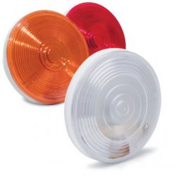 "4"" Round Sealed Light with 3-Prong Connector"
