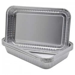 Aluminum Pans for RPSC200 Portable Roaster - 6 per/Pack!