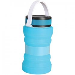 Collapsible Solar Lantern Blue