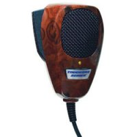 4-pin Noise Canceling CB Microphone - Wood Grain