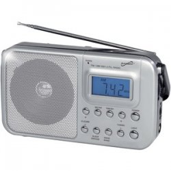 Portable 4-band Am/FM/SW 1-2 Radio