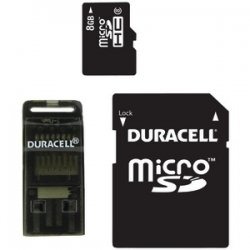 8gb Class 8 MicroSD Card With Universal Adapter
