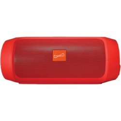 7-inch Portable Bluetooth Rechargeable Speaker Red