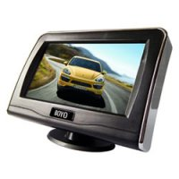 "4.3"" LCD Digital Panel Rear-View Monitor with Speaker"