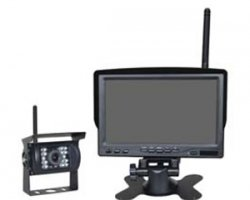 Wireless Backup Camera with 7-inch Wireless Monitor