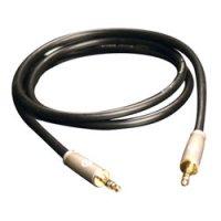 3' Stereo Audio Interconnect with 3.5mm to 3.5mm Connectors