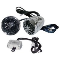 Motorcycle/ ATV/ Snowmobile Weather Proof Speaker System with MP3 iPod Input