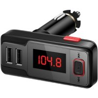 Bluetooth FM Transmitter With Dual USB Ports