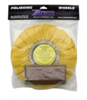 Yellow Airway Buff With 1 LB. Tripoli Bar