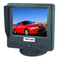 3.5 Universal Touch Screen Video Monitor with Built-In Speaker