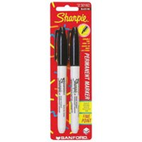 Sharpie(R) Fine Point Permanent Marker - Black 2-Pack