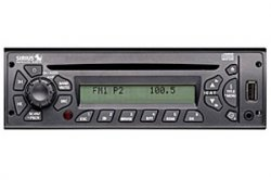 Semi-Truck AM/FM CD/USB/MP3 w/ Built-in Sirius Satellite Radio Receiver