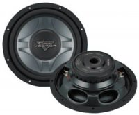 10 Vector Series DVC Shallow Mount Subwoofer - 250W RMS/500W Peak Each