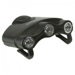 Orion Hat Clip Light With 3 Clear Led Lights