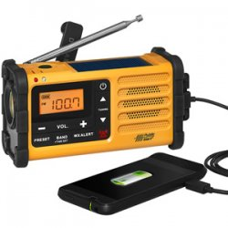Crank Powered NOAA Weather Radio