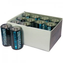 Super Heavy-duty Battery Value Box C 24 PK