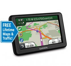 "5"" Truckers GPS Navigation with Lifetime Maps & Traffic"