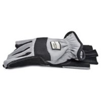 Large High-Dexterity Fingerless Gloves Grey