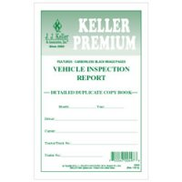 Personalized Detailed Driver's Vehicle Inspection Report, Carbonless